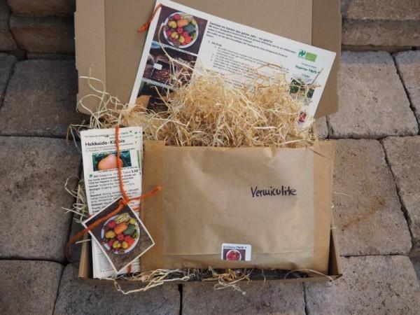 Saatgutbox - Gemüse im Garten das ganze Jahr