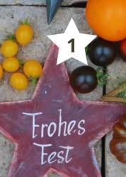 Adventskalender Bunte Tomatenvielfalt